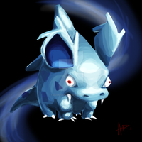 Weird Nidorina Sketch of Weirdness by ComicMasterX