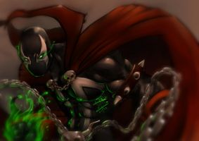 Tributo a Spawn by jotailustrador