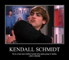 Demotivational Kendall Poster by sclirada