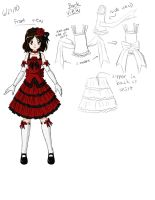 Lolita Dress Design by TheGreatMillz33