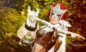 Woad Scout Quinn: Look Val, snacks by MowkyCosplay