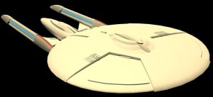 USS Walter Bishop WIP 004 by LordSarvain