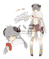 -auction- [Closed] Adopt 15 - Heart Feeder by hako-guu