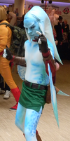Zora Link Cosplay by pure-faces