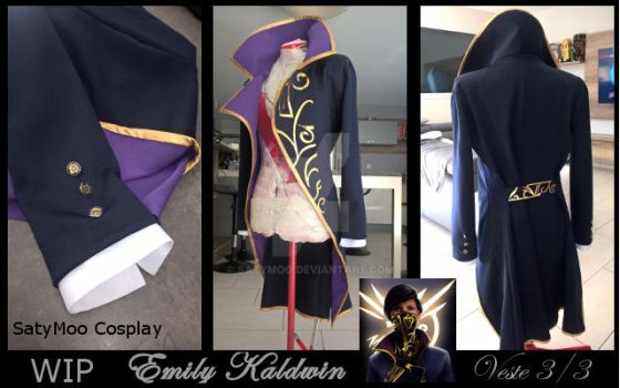 WIP Emily Kaldwin DISHONORED 2 by SatyMoo
