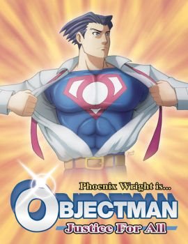 Objectman - Man of Justice by marcotte