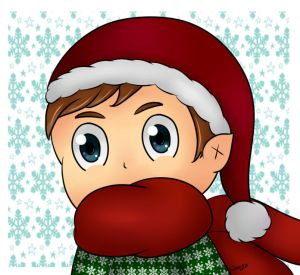 Mike Christmas Icon - Giveaway Winner by KendlesCreations