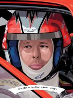 Colin McRae by flatfourdesign
