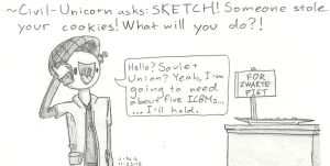 Ask Sketch! - Cookies by Trace-101