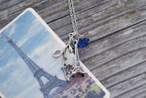 Springtime in Paris - Necklace by foowahu-etsy