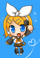 Chibi Rin by Ellygretta