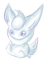 White Flareon by Kiotii