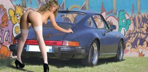 Girl and My Car by danythemummy
