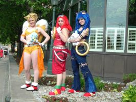 Sonic Trio by Con-Cosplay-Club