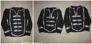 Completed Majorette Jackets by Sylviasama