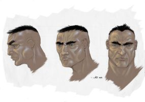 Male lead head turnaround. by jusdog