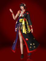 Okuni (Special Clothes DLC) by Sticklove
