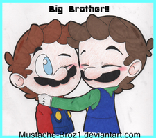 Big Brother!! by Mustache-Broz1