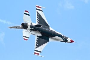 Thunderbirds Lead Solo by OpticaLLightspeed