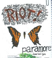Paramore sketches by mae0796