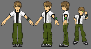 Ben 10: Omniverse Young Ben Model by FusionFallCreations