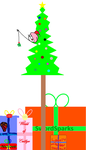 NicLove's Christmas Tree Collab. by TheSkull31