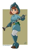 Nausicaa of the Valley of the Wind by PieIsADessert