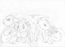 Eons that i've done by Brownie-Bytes