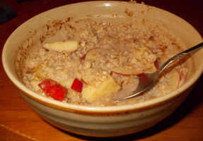 Cinnamon Oatmeal And Apples Slices by TMNTFAN85