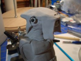 Selkath WIP face by SudsySutherland