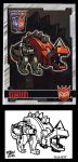 2012 BotCon Chase Card Shattered Glass SlugFest by fbwash