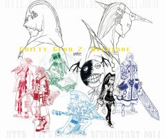 Guilty Gear 2: Overture Group by LynxKano