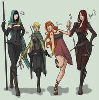 PMS squad -Adventure of Chance by Rigrena