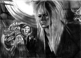 Jareth, The Goblin King by SchizophrenicUnicorn