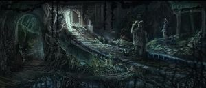 Dungeon / labyrinth by shunding