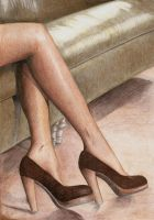 Brown shoes by Lilma1