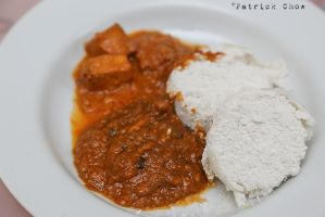 Idli with curry by patchow