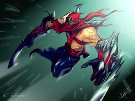 Zed The Damned Julio Del Rio by juliodelrio
