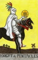 Knight of Pentacles by Fernoll