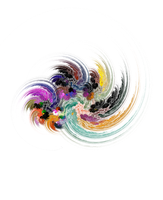 Colorful spirals by GoateeGuy