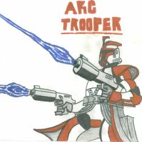 Another ARC Trooper Red Leader by CrashyBandicoot