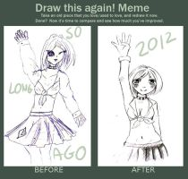 I REALLY MADE SOME IMPROVEMENT MEME by yui-tohma