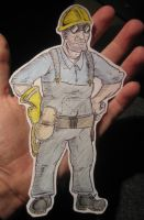 Paper Engie by Nizulz