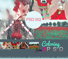 Mikone PSD Coloring 002. by MikoneLOVE