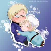 APH Sweden x Finland by nerine-yaoi