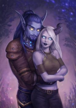 Byetta and Maldor by JuneJenssen