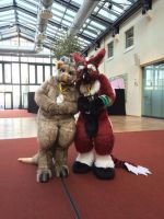 Dindin at the Eurofurence 21 by T-i-g-g