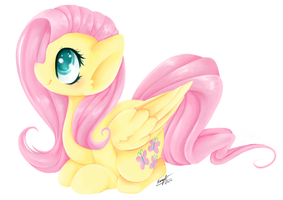 Fluttershy by BrownieAlexia