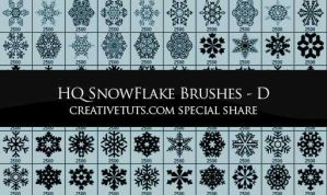Snowflakes PS Brushes - D by Grasycho