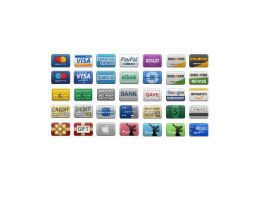 Credit Card Icons by FreeIconsFinder